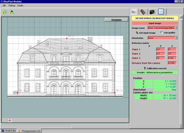 Moduł kalibracji planów architektonicznych w BPM