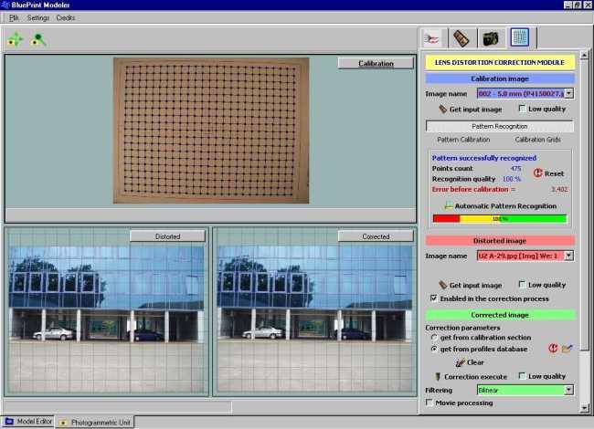 BPM - moduł kalibracji dystorsji sferycznej ,już zintegrowany