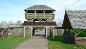 A gdyby postawić zadaszenie przy bramie głównej? :) ( kolejna fotka z wyspy Wolin)