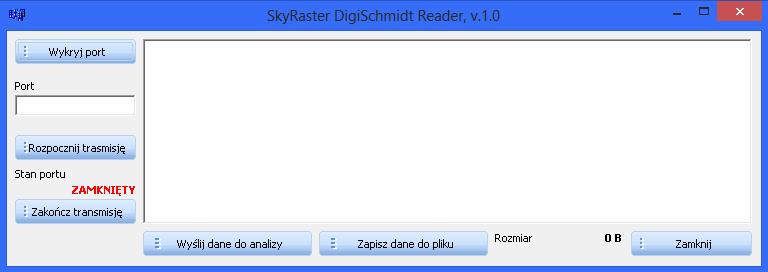 Zrzut ekranu aplikacji DigiSchmidtReader