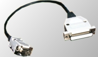 Kabelek RS-232 - z jednej 9 pin z drugiej 25-pin